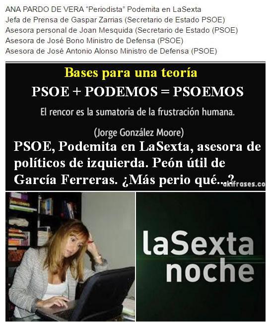 Bases para la teoría PSOEMOS Ana Pardo de Vera