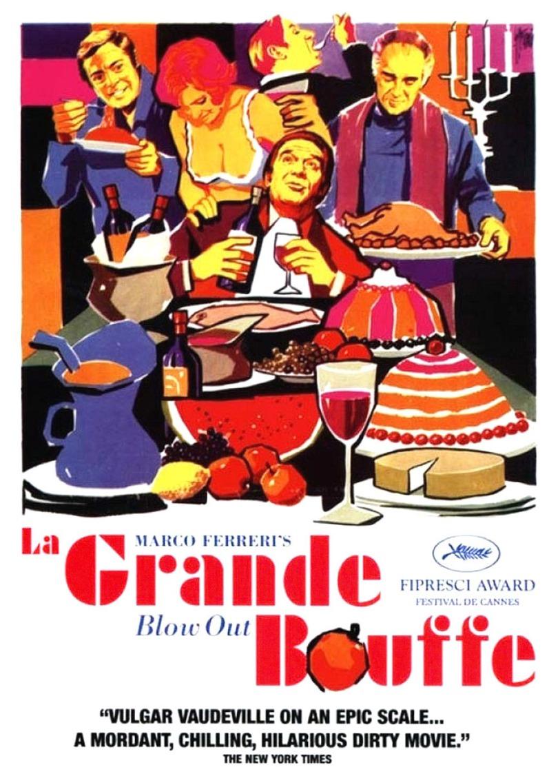 cartel de La grande bouffe de Marco Ferreri