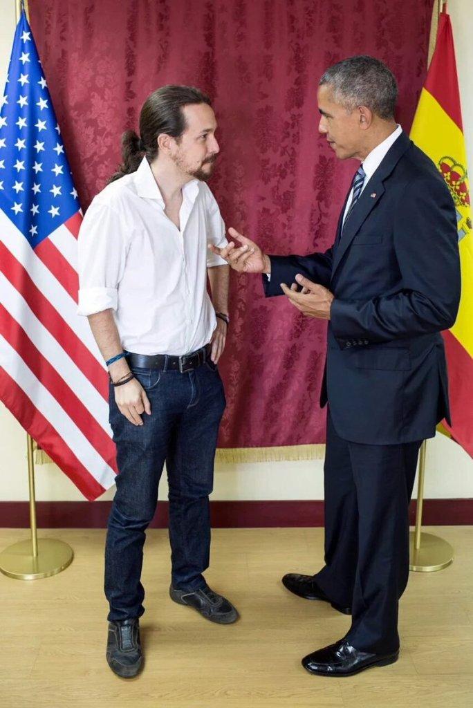 Sr. Obama, es una sonrisa del destino que haya podido conocerme