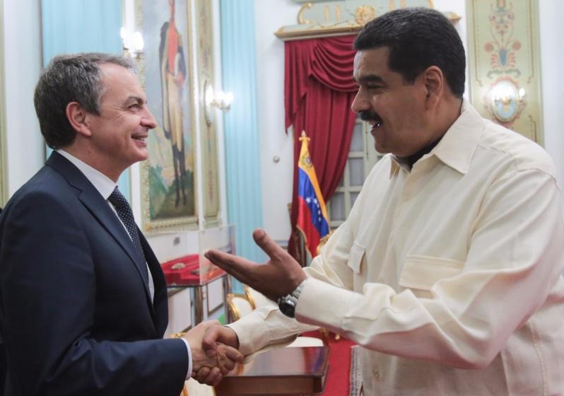 PRESIDENTE MADURO SE REÚNE CON EXPRESIDENTE ESPAÑOL RODRÍGUEZ ZAPATERO