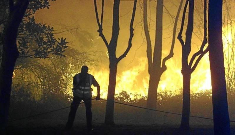 La lucha del hombre contra el fuego