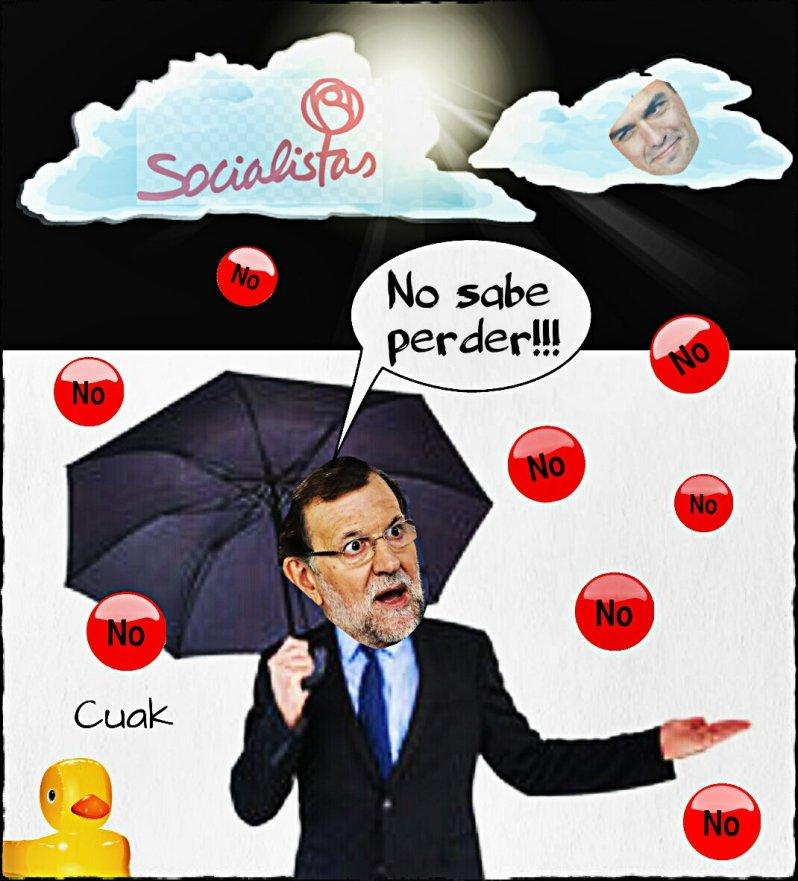 Mariano no te amilanes Envida más terceras elecciones