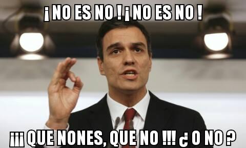 Pedro Sánchez será Presidente