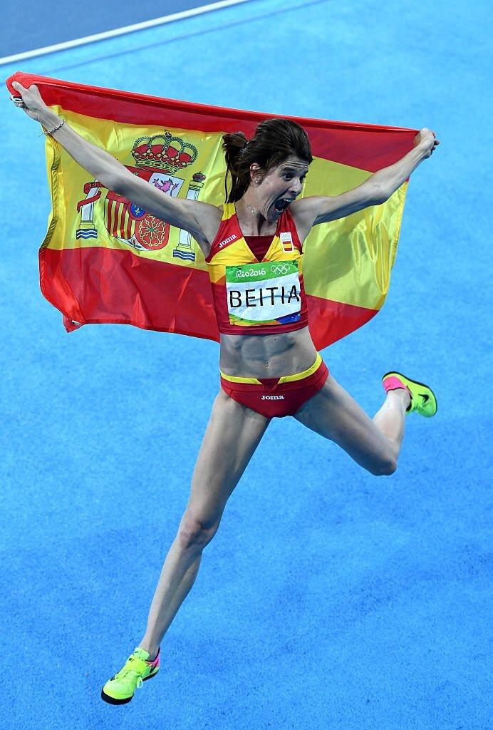saltamos de alegría con RUTH BEITIA