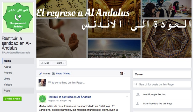 Un portal islamista ofrece la capital catalana para emigrar Vestir hijab, orar en la mezquita o menús halal son parte del día a día de Barcelona
