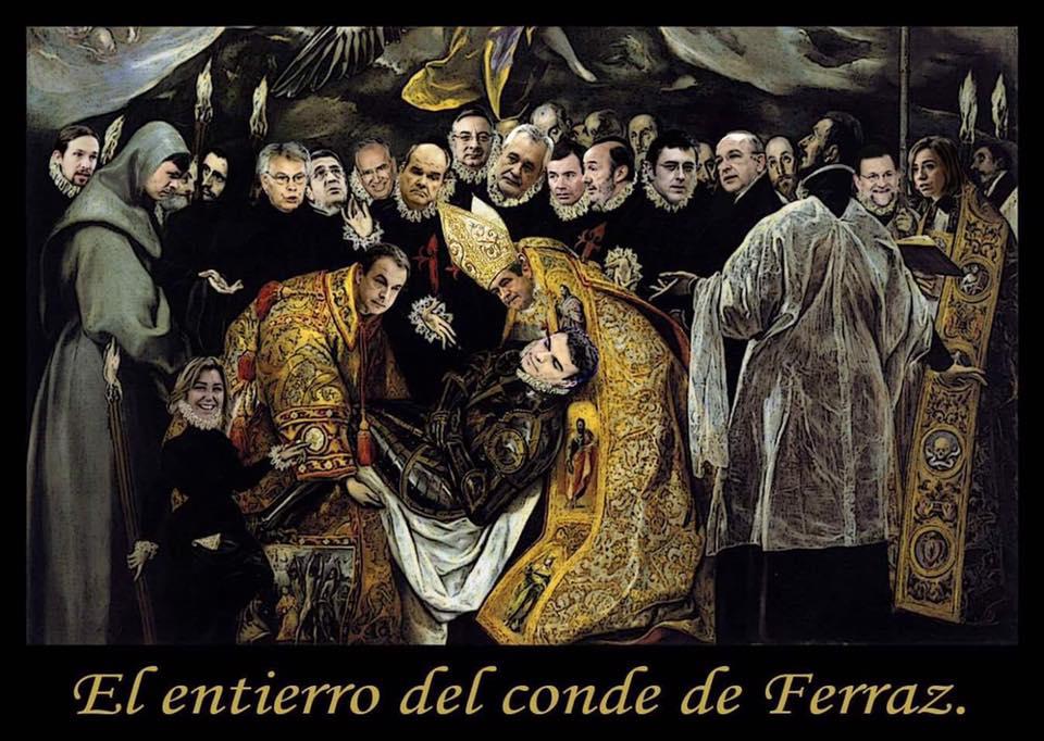 La resurrección del Conde de Ferraz El-entierro-del-conde-ferraz
