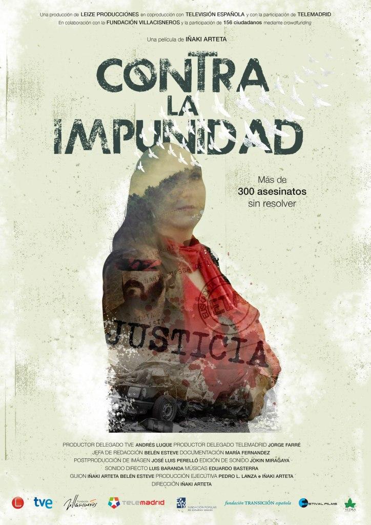Cartel de Contra la Impunidad de Iñaki Arteta