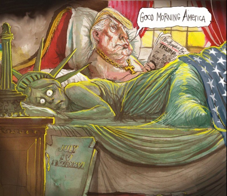 viñeta de David Rowe